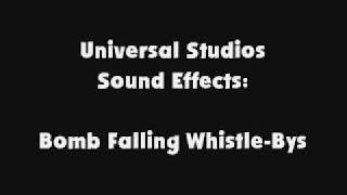 Universal Studios SFX Bomb Falling Whistle Bys