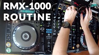 Pioneer RMX-1000 Routine | Axel Paerel | Génération Rekordbox