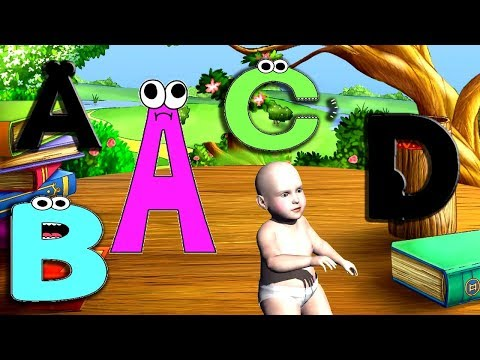 Download thumbnail for Learn Alphabet With Dancing Baby