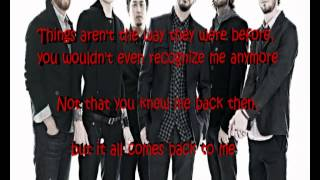 In the end - Linkin Park (lyrics)