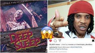 Vybz Kartel Reacts To Alkaline Deep Sleep Diss Song