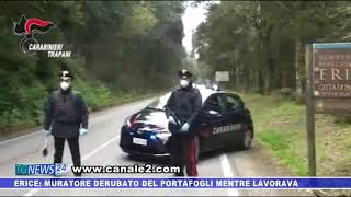 ERICE VETTA: MURATORE DERUBATO DEL PORTAFOGLI  ARRESTATO DAI CARABINIERI 36ENNE PREGIUDICATOMENTRE LAVORA.