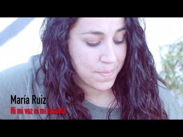 Vídeo de María Ruiz en acústico