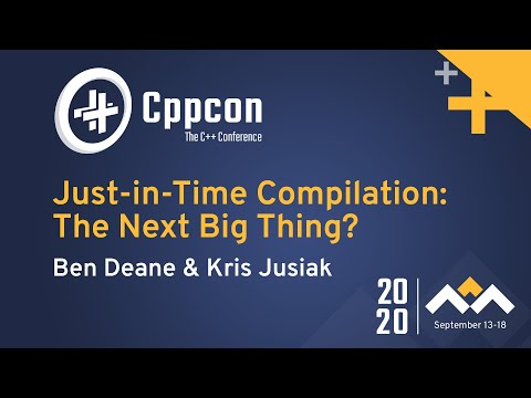 Just-in-Time Compilation: The Next Big Thing?