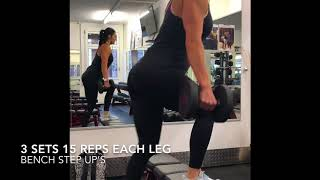 Quads and Glutes training