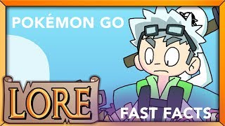 POKÉMON GO FAST FACTS! | Pokémon Training in the Real World | Greenskull from Ready Up Live | LORE