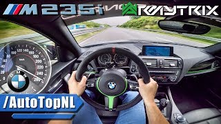377HP BMW M235i ARMYTRIX Autobahn POV TOP SPEED & ACCELERATION by AutoTopNL