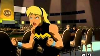 Young Justice Invasion - Lobo versus Batgirl & Wonder Girl