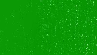 Full HD Green Screen Heavy Rain Close Up particals Effects