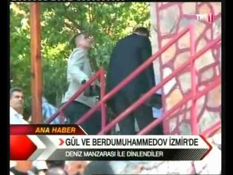T.C. Cumhurbaşkanlığı Türkmenistan Devlet Başkanı ve Bora Kozanoğlu - Vidyo 1
