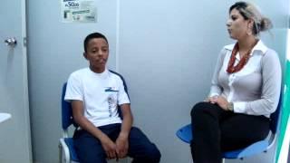 Depoimento do aluno Emanuel falando um pouco mais sobre como foi participar da FNE.