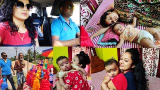 আমি ছুটে গেলাম দিদি বাড়ি অনিক পাপাদের আমাদের বাড়িতে আনতে#Barrackpore#BengaliBlog
