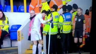 Banana thrown at Gareth Bale