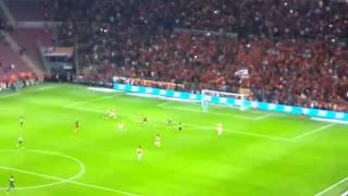 GS 2  1 FB Canlı çekim Sneijder'in Golü