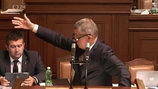 Babiš vs. Kalousek - Je zase vožralej, zloděj zlodějský!