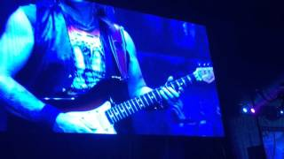 Iron Maiden - Hallowed Be Thy Name (Book of Souls Tour, Brisbane, 04/05/16) Intro