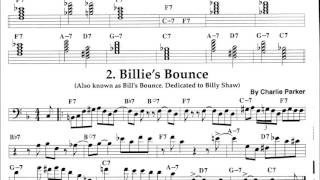 F - Blues with Bass Clef Instrument Chord Changes