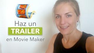 Cómo hacer un vídeo en Movie Maker con fotos, música y texto.