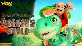 Motu Patlu in Dragon's world | MOVIE | Kids animated movie | WowKidz width=