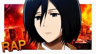 Rap da Mikasa - Shingeki no Kyojin | Raplay #20 ft. Sárcelli