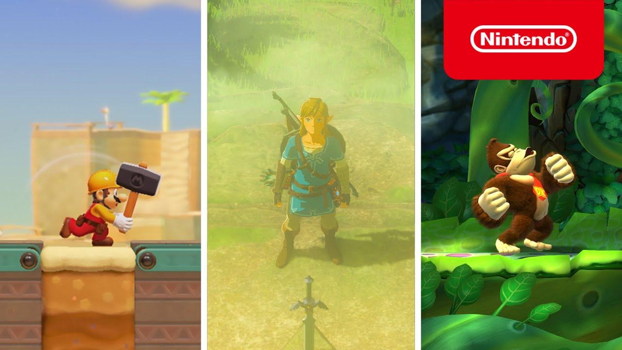 Nintendo - Adventures with Familiar Faces Await on Nintendo Switch!