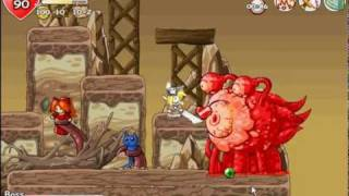 Epic Battle Fantasy: Adventure Story Perfect Second Boss Battle on Epic Difficulty