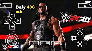 [400MB] REAL WWE 2K20 PPSSPP ANDROID DOWNLOAD WWE 2K20 PSP MOD | ANDRO TECH CP I