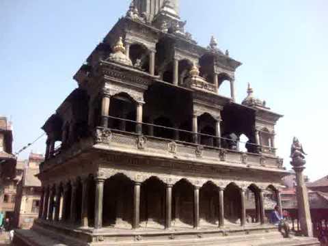 15 Juan Lázara y Shreekrishna Krishna Temple.MPG