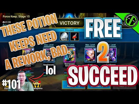 FIX THE POTION KEEPS BRO!!! Also, Hi. | Free 2 Succeed - EPISODE 101
