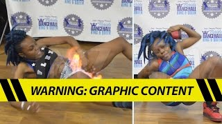 Viral Fire Crotch Dancer -- My Vagina Survived!! | TMZ width=