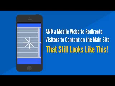 Responsive Design vs. Mobile Websites - The Difference is Huge!