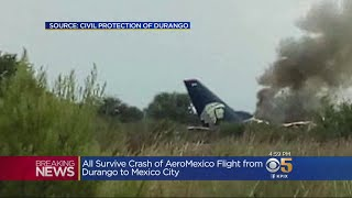 Aeromexico Flight Crashes After Takeoff In Northern Mexico