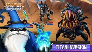 Monster Legends: Breaking NEWS The Titan Invasion