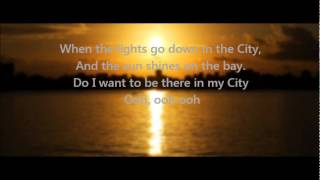 Journey - Lights (Go Down In the City) w/ Lyrics