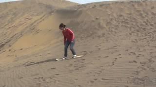 Practicando Sandboard 2