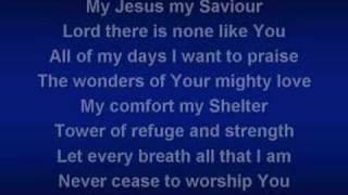 Shout To The Lord (worship video w/ lyrics)