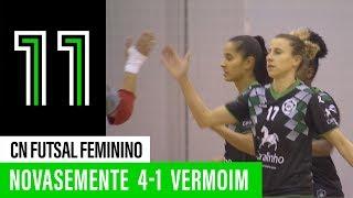 CN Futsal feminino: Novasemente Cavalinho 4 - 1 Fc Vermoim