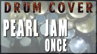 Drum cover #24: Pearl Jam - Once (drumless track / play along)