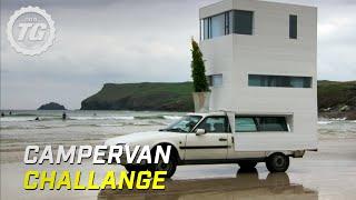 Campervan Challenge | Top Gear | BBC width=