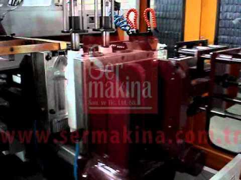 Plastik Extrüzyon Şişirme Makinası