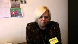 Prezes KS Pelikan Łowicz - Jolanta Papuga o motywowaniu piłkarzy (15.09.2013)