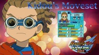 Kidou's Moveset In Inazuma Eleven Go strikers 2013