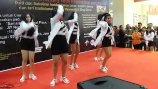 [LIVE] Kara (카라) - PANDORA dance cover by: Miss Joker @ Samarinda Central Plaza