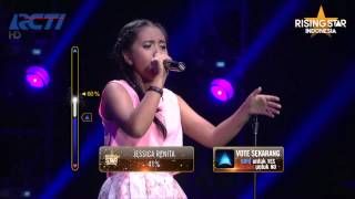 "Hanin Dhiya ""Because You Love Me"" Celine Dion - Rising Star Indonesia Final Duels 1 Eps. 13"