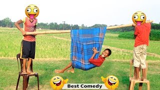 Lungi Funny 😂 😂 Best Comedy Videos 2019 | Ep-20 | Indian Best Fun | #SharmaMedia
