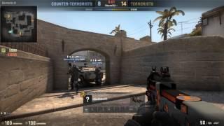 CS:GO - ESEA.net COTW: and the crowd goes WILD! vs4 ninja defuse
