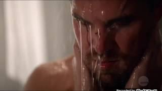 Arrow 7x08 Oliver , felicity love scene part 2