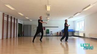 Let's Move! Easy Dance Workouts // Stromae - Papaoutai