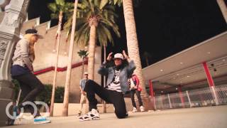 Chris Brown And Les Twins , Chachi Gonzales & Smart Mark - Trun Up The Music (Remix) OFICIAL VIDEO