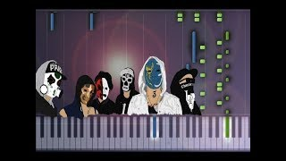 Hollywood Undead - Lion Piano Tutorial (Synthesia Cover)
